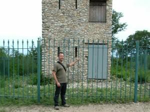 Author Michael Varhola at Comanche Lookout.